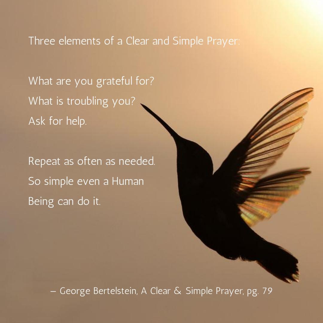 Prayer Hummingbird